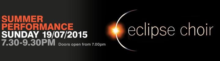 Eclipse Choir Summer Performance 2015