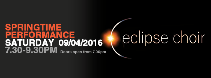Eclipse Choir Springtime Concert 9th April 2016